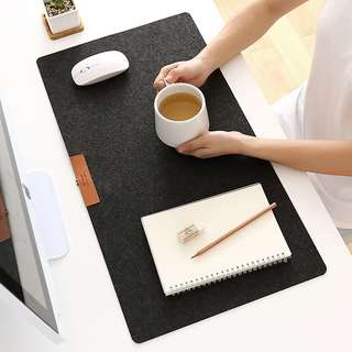 Protective Writing Desk Mat Mouse Pad for Laptop