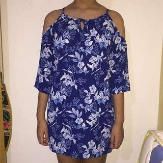 Sabrina Blue Dress