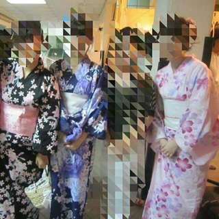 Updated* Women's Yukata Rental