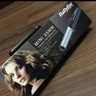 Babyliss Ceramic Hair Styling Iron 25mm