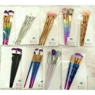 3pcs Brush Unicorn Brush Set