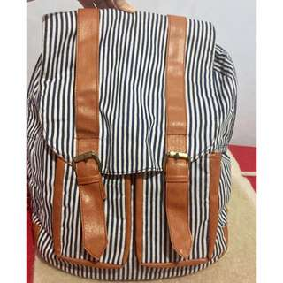 Ransel stripe cute