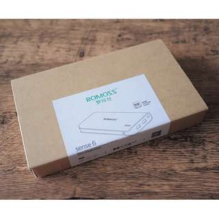 BNIB Brand New Romoss Powerbank sense6 portable charger 20000mah