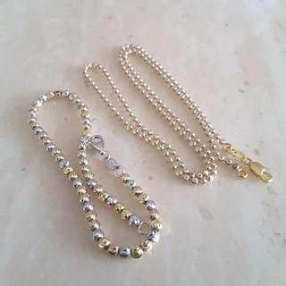 916 Necklace And Bracelet