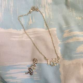 FREE Necklace + Ring !!