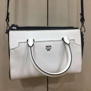 MCM White Bag