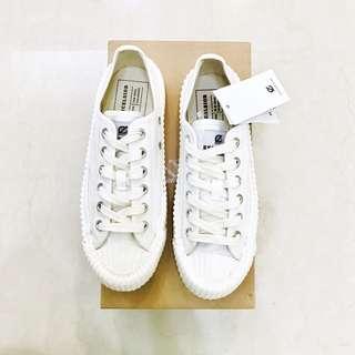 EXCELSIOR 餅給鞋 白色白底 24cm 小白鞋