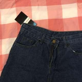 顯瘦直筒寬褲M
