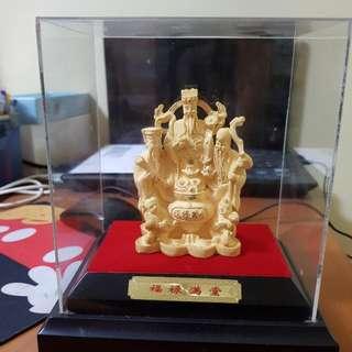 Gold Plated Fu Ru Shou