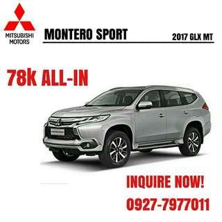 2017 Montero GLX MT