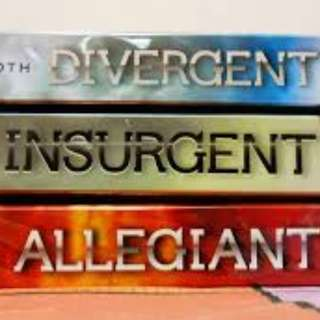 The Divergent Trilogy Audiobooks Collection