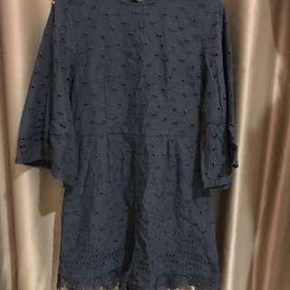 Lace Black Jumpsuit