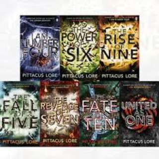 I am number four Lorien legacies Audiobook Collection