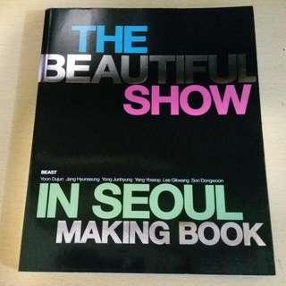 BEAST 2nd Concert Making Book
