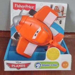 全新Fisher Price Disney Planes 飛機總動員 Shake'n Go