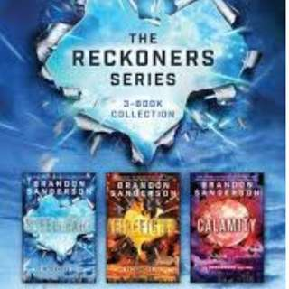 Steel Heart Reckoners Trilogy Audiobook Collection