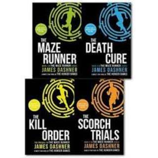 The Maze Runner Series Audiobook Collection