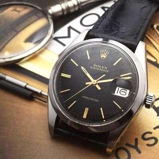 SOLD-     34mm Rolex 6694 Men's Oysterdate
