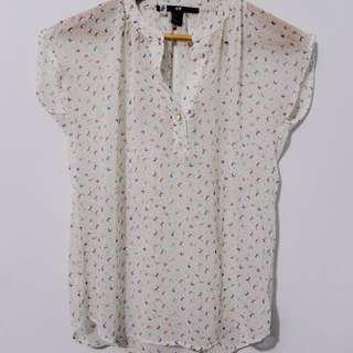 H&M Pattern Blouse
