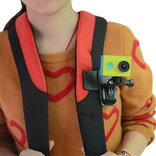 原廠品質 背包夾 360度 小蟻 4K 4K+ 運動相機 小米 gopro hero3 hero4 hero5
