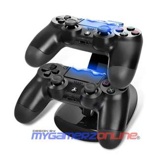 Dual PS4 Controller Charging Dock