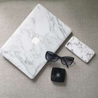 "Marble MacBook Air Pro 13"" Marble Decal"