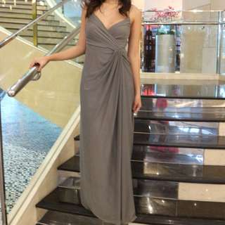 Tantease Long Grey Gown