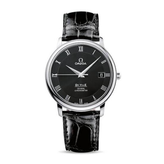 【獨特】歐米茄蝶飛系類典雅系類腕錶4875.50.01手錶 男錶 機械錶 簡單 大氣