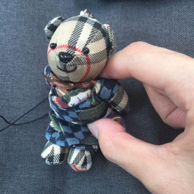 手工縫製熊吊飾