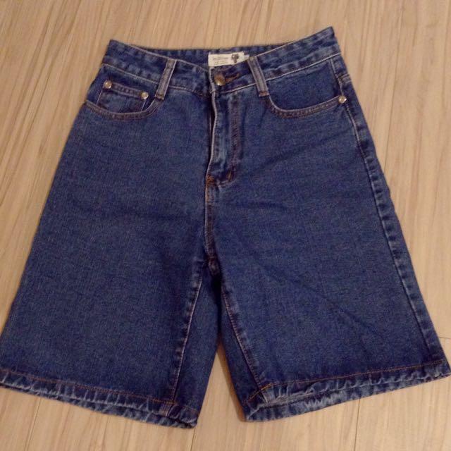 牛仔短褲/五分褲