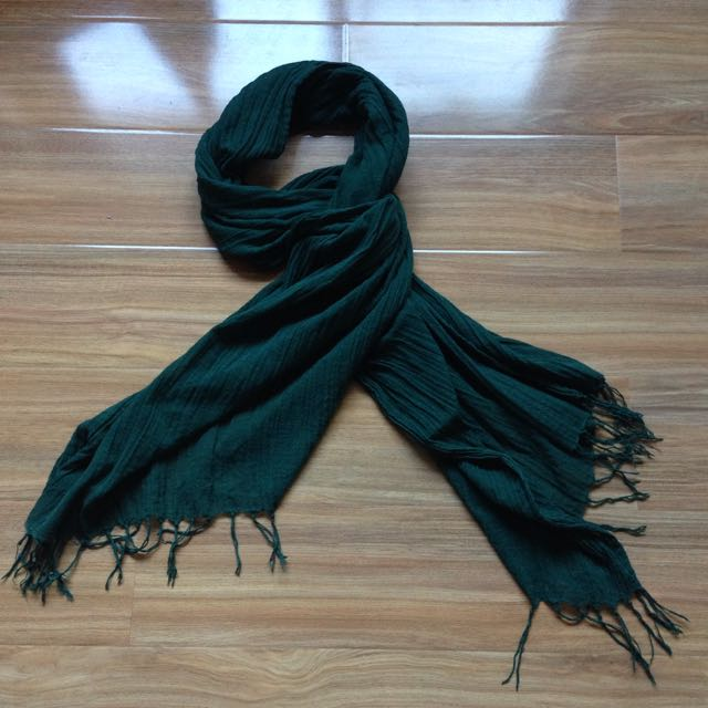 🎁 Forest Green Scarf