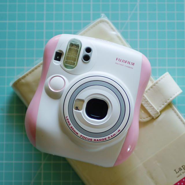 富士拍立得 Fujifilm instax mini25 mini 25 粉紅款