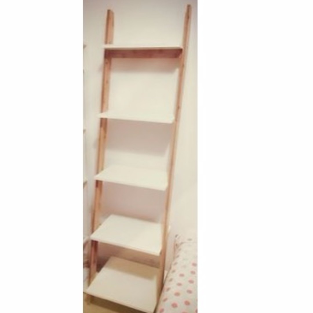 Preorder Ladder Display Rack Clothes Bathroom Towel Storage Flower Gardening Stand Orted Stairs Shelves Multipurpose Lifestyle Wooden