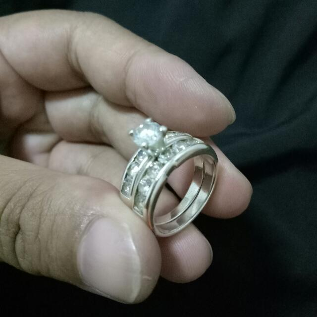 Sale Sale Sale!!!!!💯 PURE SILVER Ring( size 7 )PAWNABLE