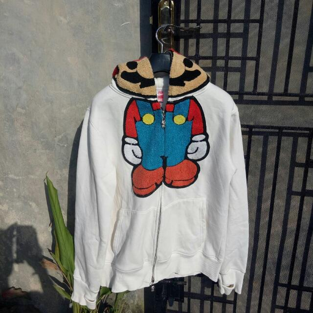d1a3f1551 A Bathing Ape (BAPE) X Baby Milo X Mario Bros, Men's Fashion, Men's Clothes  on Carousell