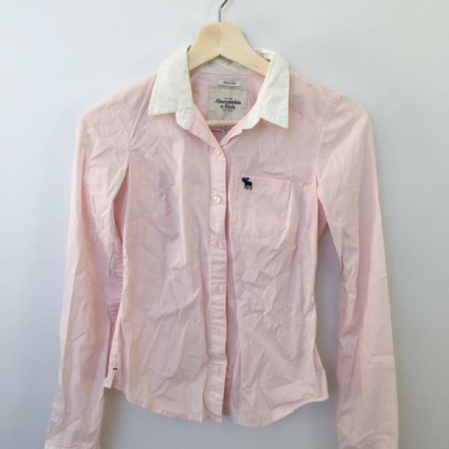 Abercrombie & Fitch Fitted Shirt