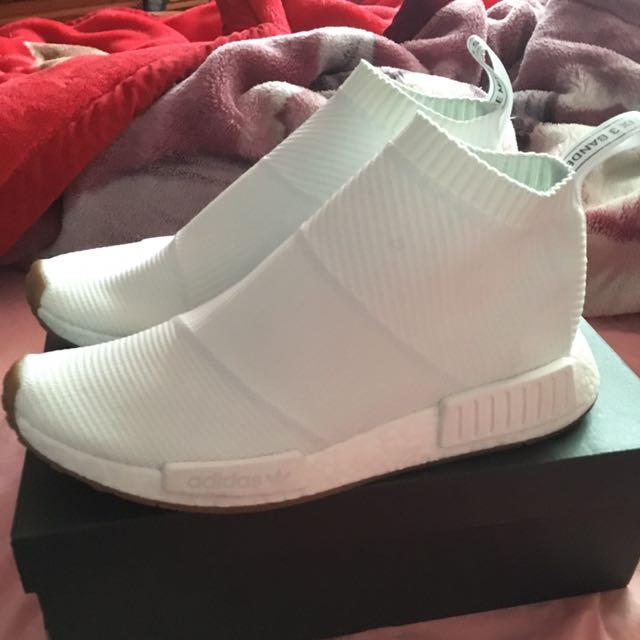 Adidas NMD CS1 PK Triple White Gum SIZE US10