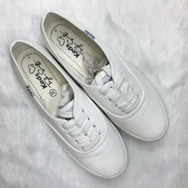 All White Taylor Swift Keds