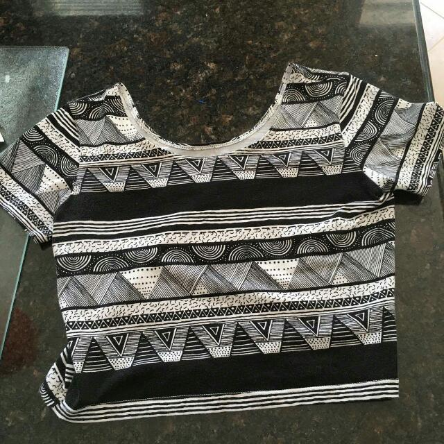 American Apparel Crop Top Size Small