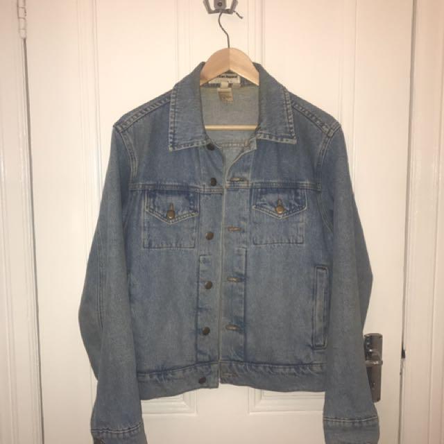 American Apparel Denim Jacket Size XS