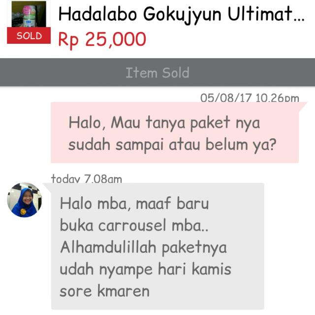 Another Testi, Thank You For Shopping :)