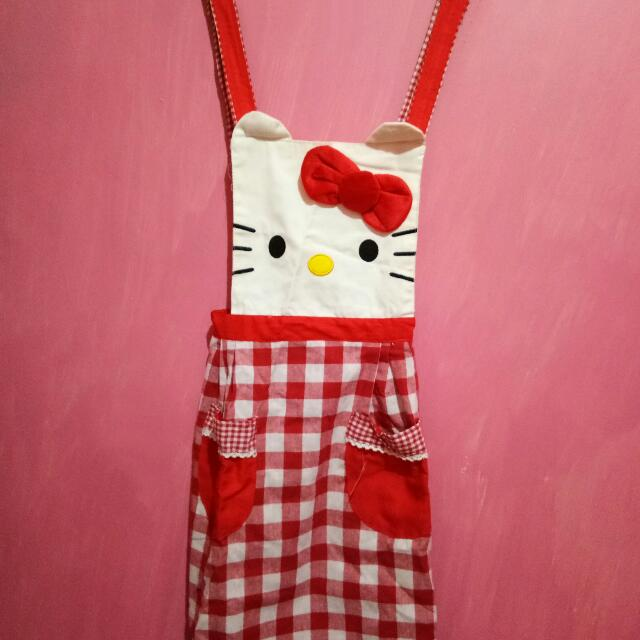 Apron/celemek Hello Kitty