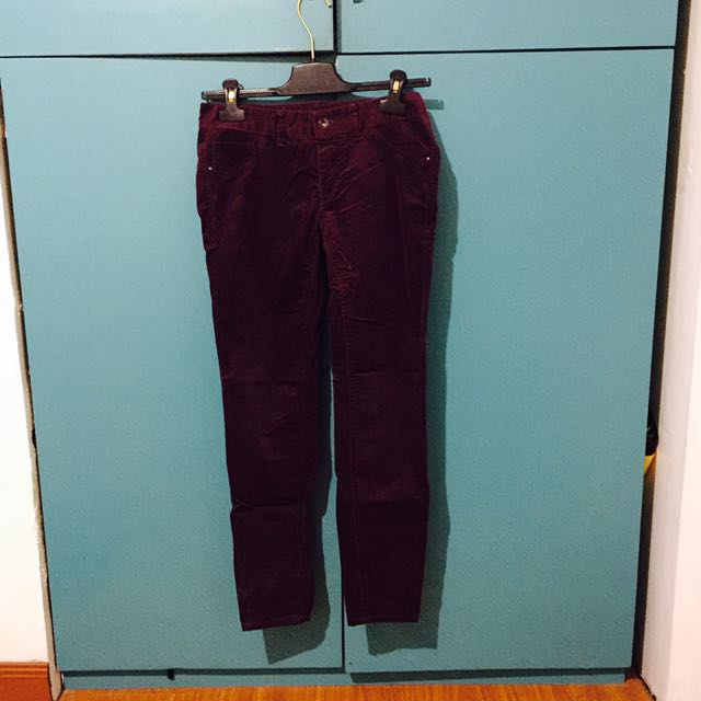 Armani Exchange Suede pants
