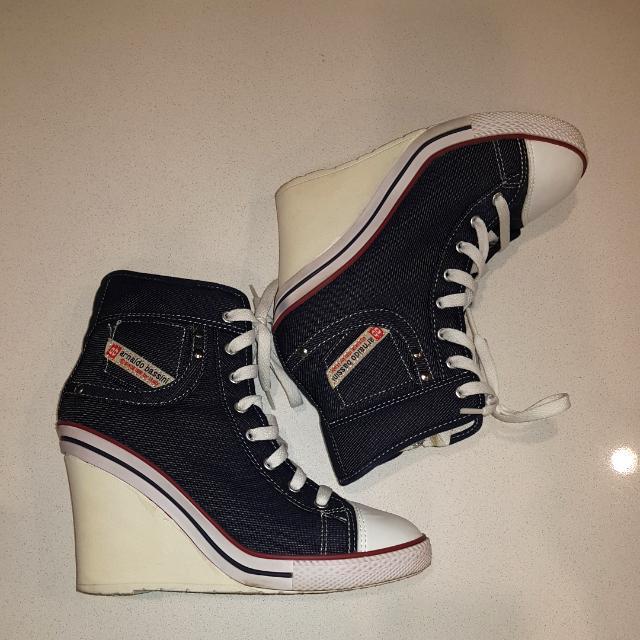 Arnaldo Bassini Wedge Sneakers