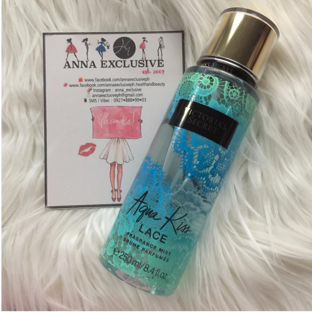 AUTHENTIC Victoria's Secret AQUA KISS LACE Fragrance Mist 250ml - LIMITED EDITION!