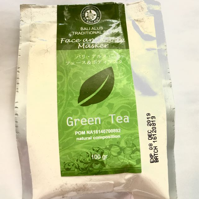 Bali Alus Green Tea