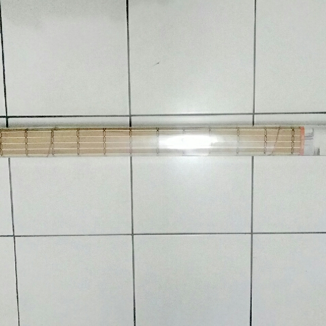 bamboo roll up window blind