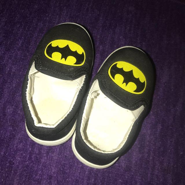 Batman boy shoes