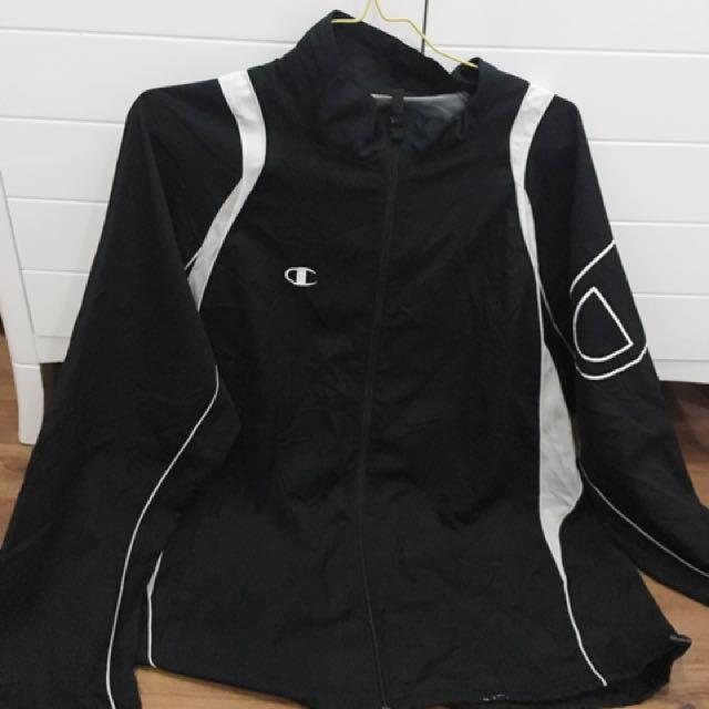 Black Champion Jacket