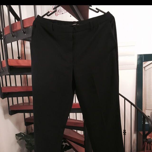 Black Suit Pant - Size 10